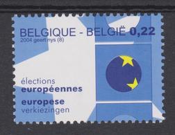 BE 2004 - N° 3255 XX élections Européennes - Belgique