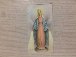 Santino Madonna Dell'Immacolata In Ricordo Della Festa Dell'Immacolata In Gazzaniga (bg) - Images Religieuses