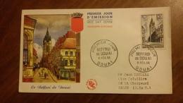 Premier Jour  FDC..  LE  BEFFROI  DE  DOUAI .. 1956 .. - Other