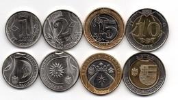 Moldova - Set 4 Coins 1 2 5 10 Lei 2018 UNC Lemberg-Zp - Moldavie