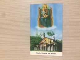 Santino Beata Vergine Del Boden - Images Religieuses