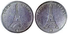 04647 GETTONE TOKEN JETON TURISTICO PARIGI TOUR EIFFEL - France