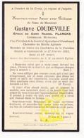 DP Im. Mort. Cons. Municipal - Gustave Coudeville ° Steenvoorde FR Nord 1872 † 1933 X R Plancke ° Hondeghem / Hazebrouck - Images Religieuses