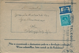 PORTUGAL , LISBOA - COLONIA , SOBRE CIRCULADO - 1910-... República