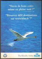 "Carte Postale ""Cart'Com"" (1999) - KLM The Reliable Airline (Royal Dutch Airlines) - Aviation"