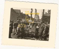 WW2 PHOTO ORIGINALE Soldat Allemand Secteur ENGLEFONTAINE Le Cateau Cambrésis NORD 59 à Localiser !! - 1939-45