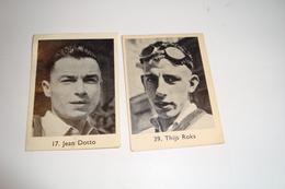 2 Chromo's Jean Dotto En Thijs Roks ( Rizla+) - Cyclisme