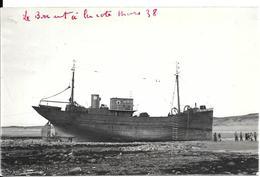 2-CPA-PH-1938-CHALUTIER A La COTE-Le Briant-Semble Etre Armement DAHL  De La Rochelle-?? TBE - Pêche