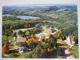 CP 58 CHAUMARD PANNESIERE ( Nièvre) Vue Aérienne - La Piscine 1984 - Other Municipalities