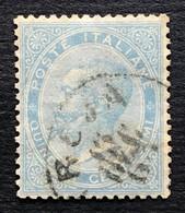 Regno 15 Cent DLR, Annullo 15/12/1863 - 1861-78 Vittorio Emanuele II