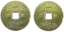 03222 GETTONE TOKEN JETON JAPAN PACHISLO GAMING TOKEN - Casino