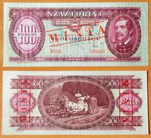 Hungary 100 Forint 1968 Specimen UNC - Hongrie
