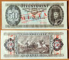 Hungary 50 Forint 1986 Specimen UNC - Hongrie