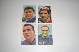 4 Chromo's Choc. Victoria : Raymond Poulidor,Willy Monty,Schils En Frans Melckenbeeck - Cyclisme