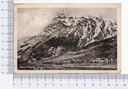 Mount Stephen House And Mount Stephen, Field, British Columbia - British Columbia