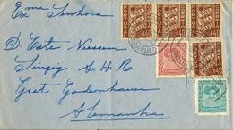 1938 PORTUGAL , CARAMULO - ALEMANIA , SOBRE CIRCULADO - 1910-... República