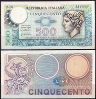 Italy 500 Lire 1974 - [ 2] 1946-… : Républic
