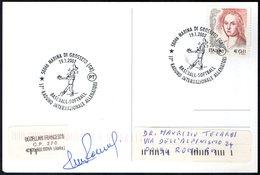 ITALIA MARINA DI GROSSETO 2002 - 17° RADUNO INTERNAZIONALE ALLENATORI BASEBALL SOFTBALL - CARTOLINA UFFICIALE VIAGGIATA - Baseball