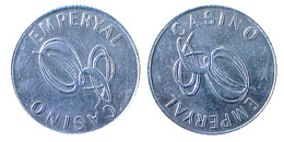 02823 GETTONE TOKEN JETON TURKEY EMPERYAL CASINO - Casino