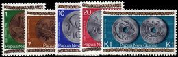 Papua New Guinea 1975 New Coinage Unmounted Mint. - Papouasie-Nouvelle-Guinée