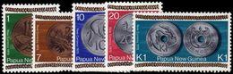 Papua New Guinea 1975 New Coinage Unmounted Mint. - Papua New Guinea