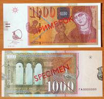Macedonia 1000 Denari 2003 Specimen UNC - Macedonia
