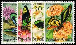 Papua New Guinea 1975 Fauna Conservation (Birdwing Butterflies) Unmounted Mint. - Papouasie-Nouvelle-Guinée