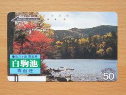 Japon Japan Free Front Bar, Balken Phonecard / 110-9628 / Landscape - Paysages