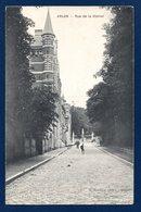 Arlon.Rue De La Station. Couvent Des Chanoinesses De St. Augustin. Monument Orban De Xivry. 1910 - Arlon