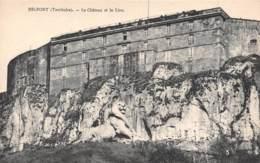 90 - BELFORT (Territoire) - Le Château Et Le Lion - Belfort – Siège De Belfort