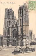 BRUXELLES - Eglise Ste Gudule - Monuments, édifices
