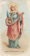 SANTINO - SANT APOLLONIA V.E M.- - Images Religieuses