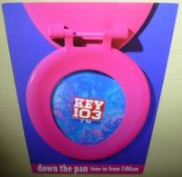 Carte Postale - Down The Pan, Tune In From 7.00am (lunette De WC) Key 103 FM - Publicité