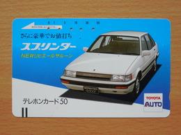 Japon Japan Free Front Bar, Balken Phonecard / 110-9706 / Toyota - Voitures