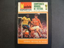 BRAZIL - SPORT JOURNAL MAGAZINE - 1966 GLOBAL SOCCER CHAMPIONSHIP IN THE STATE - Cómics (otros Lenguas)