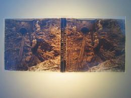 Plaque En Verre Positif , Guerre 14/18 - ENTREE DU DOUAUMONT REPRIS - Plaques De Verre