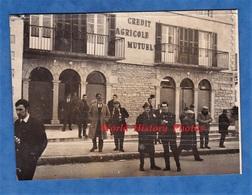 Photo Ancienne - POUILLY  Sur Loire ? En Auxois ? Sous Charlieu ? Fuissé ?- Banque Crédit Agricole Mutuel - Métiers