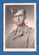 Photo Ancienne - PARIS - Portrait D'un Militaire Français Bataillon à Identifier - Post Libération WW2 Studio Bartos - Guerre, Militaire
