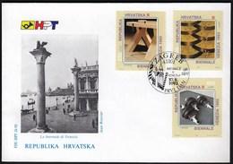 Croatia Zagreb 1993 / Biennale In Venice / Modern Art / FDC - Croatia
