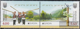 Ukraine 1249A-1250A Couple (complete Issue) Unmounted Mint / Never Hinged 2012 Visits - Ukraine