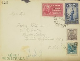 O) 1949 BRAZIL, GROVER CLEVELAND -NEW YORK WORLD'S FAIR SCT 482,STATUE OF FRIENDSHIP SCT 483, COMMERCE SCT 524, AGRICULT - Brazil