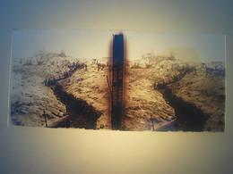 Plaque En Verre Positif , Guerre 14/18 - NIEUPORT RUINES DU PHARE. - Plaques De Verre