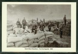 Fort Qu'Appelle En 1885; Rébellion De Louis Riel (5088) - Canada