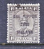 JAPANESE  OCCUP.  PAHANG  N 13   (o) - Great Britain (former Colonies & Protectorates)