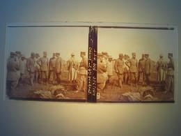 Plaque En Verre Positif , Guerre 14/18 - SECTION CANINE - LE GENERAL GOURAUD - Plaques De Verre