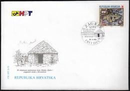 Croatia Zagreb 1993 / 50 Anniversary Of The Unification Of Istria, Rijeka, Zadar And Torn Island With Croatia / FDC - Croatie