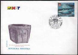 Croatia Zagreb 1993 / Museum Of Croatian Archaeological Monuments In Split / FDC - Croatie