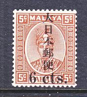 JAPANESE  OCCUP.  PAHANG  N 21    * - Great Britain (former Colonies & Protectorates)