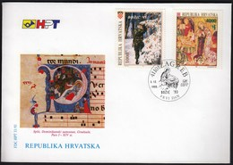 Croatia Zagreb 1993 / Christmas / FDC - Croatie