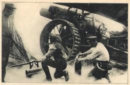 Beau Document D'époque Obusier Anglais 1916 - 1914-18